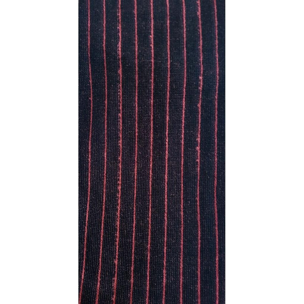 ART.2 COSTINA CALZE LUNGHE COTONE FONDO BLU COSTINA FUXIA Men's sock long in summer cotton – ONE SIZE (39-46)