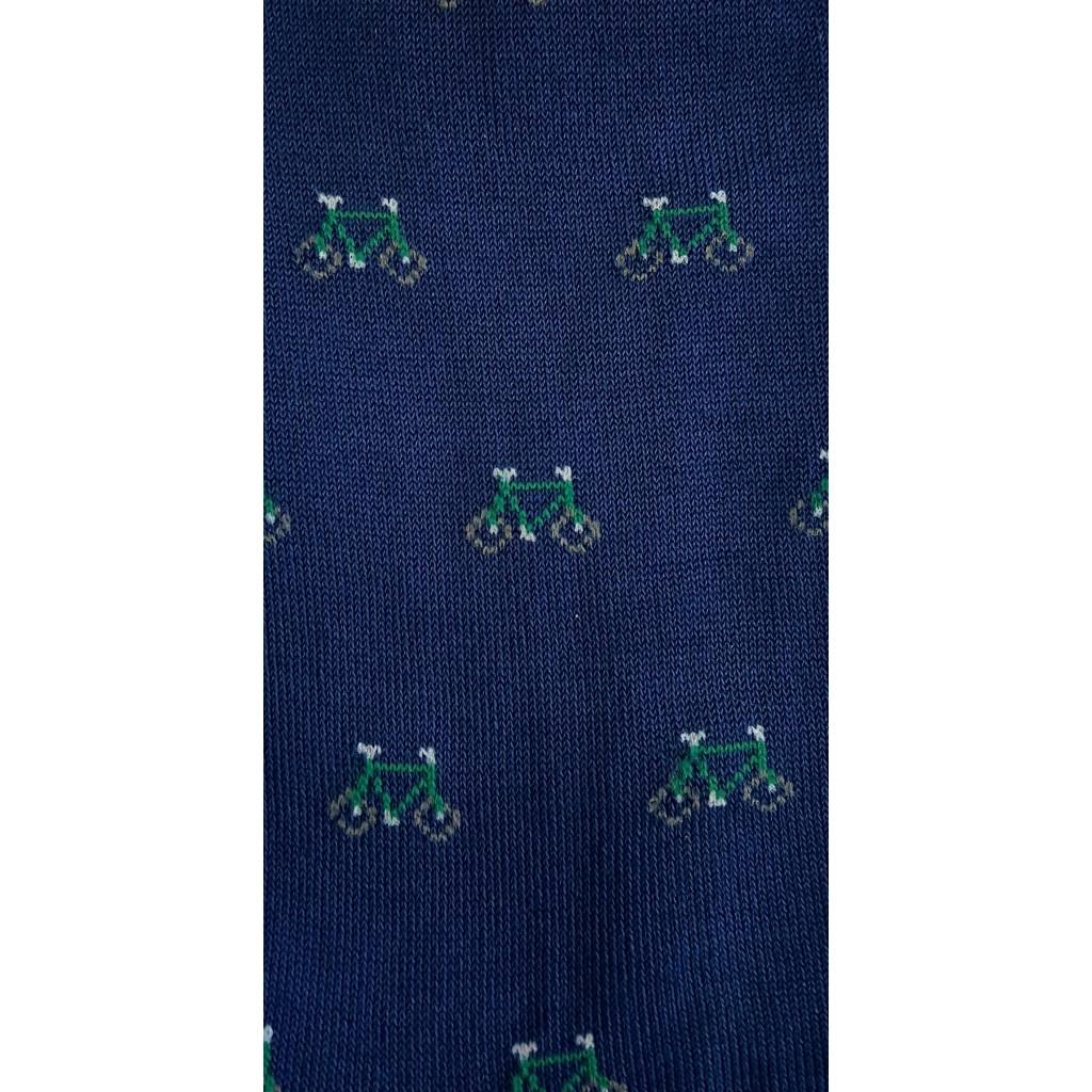 ART. BIKE CALZE CORTE BICI COTONE MERCERIZZATO FONDO JEANS Men's sock SHORT in Summer cotton – ONE SIZE (39-46)