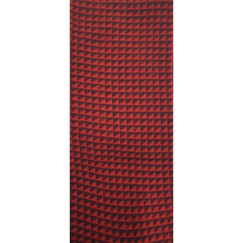 CALZE UOMO PATTERN ROMBINI LUNGA IN COTONE CALDO FONDO BLU/BORDO Men's sock long in summer cotton