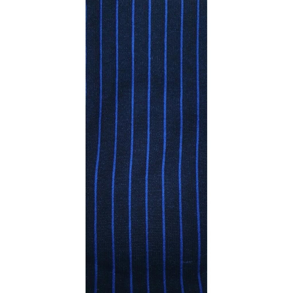 CALZA UOMO COSTINA BLU RIGA AZZURRA - Men's sock long in warm cotton