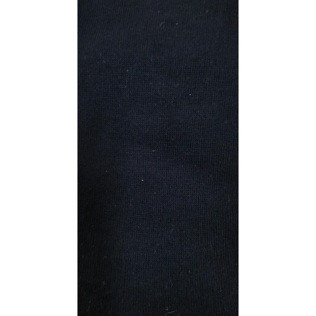 Calze lunghe in caldo cotone fondo blu